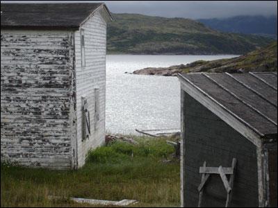 Abandoned coastal village, Labrador