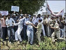 Gujjar protesters