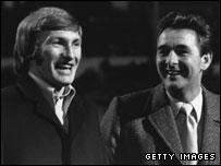 Colin Todd with Brian Clough
