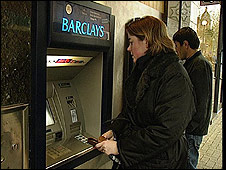 Barclays customer