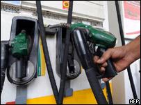 Estaci�n de servicio de gasolina
