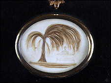 The curio that may contain Jane Austen's hair