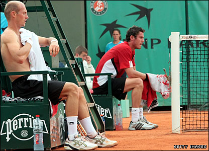 Nikolay Davydenko and Marat Safin