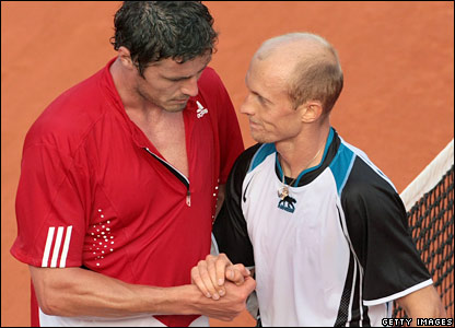 Marat Safin and Nikolay Davydenko