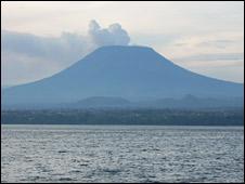 Nyiragongo (BBC)