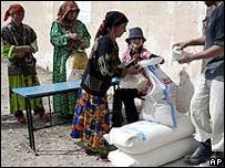 La ONU distribuye alimentos
