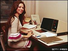 70s typist