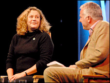 Kathleen Turner is interviewed by Paul Blezard