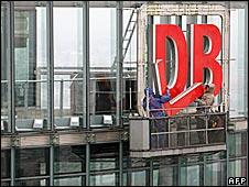 Deutsche Bahn sign