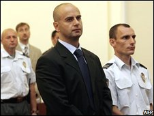 Gen Mirko Norac in court in June 2007