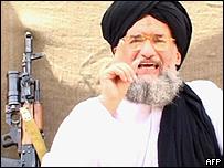 Ayman al-Zawahiri  en un video.