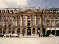مقر وزارة العدل الفرنسية