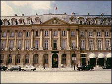 French justice ministry, file pic