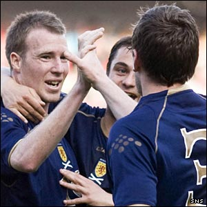 Motherwell and Scotland striker David Clarkson