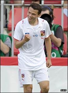 Czech midfielder Libor Sionko