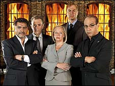 The Dragons' Den investors