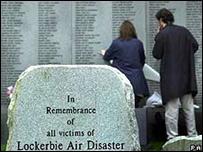 نصب تذكاري لتذكر ضحايا لوكربي