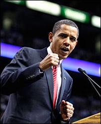 السيناتور باراك أوباما