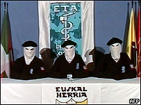 Integrantes de ETA