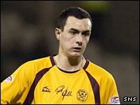 Motherwell midfielder Marc Fitzpatrick