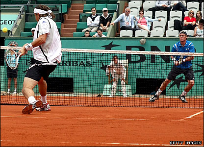 David Ferrer and Lleyton Hewitt