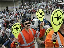 Heathrow protesters