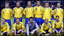 The Sweden team