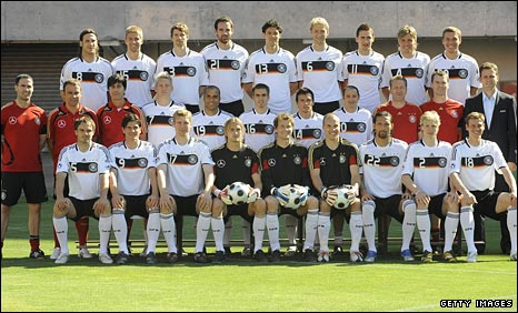 The Germany squad