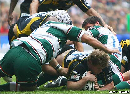 Rees scores for Wasps