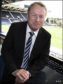 Kilmarnock chairman Michael Johnstone