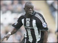 Senegal and Newcastle United's Abdoulaye Faye
