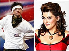 George Sampson and Jodie Prenger