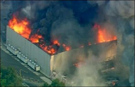 Universal Studios fire