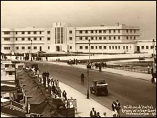 Postcard of Midland Hotel (Photo courtesy of Friends of the Midland Hotel)
