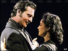 Darius Danesh and Jill Paice