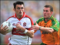 Eoin Bradley (l) and Eamon McGee
