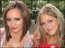 Chanelle Hayes and Nikki Grahame