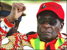 Robert Mugabe on 29 May