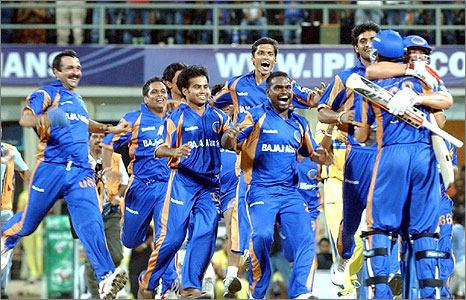 Rajasthan celebrate their victory