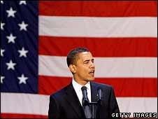 Barack Obama speaks in Sioux Falls, South Dakota, 1 June 2008