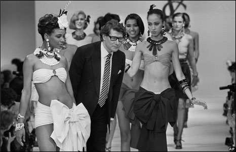 Yves Saint Laurent in 1984