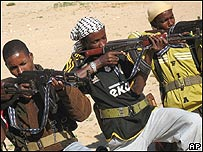 Radicales islamistas de Somalia, AP