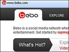 Bebo site