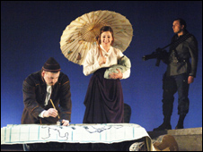 Scottish Opera production of A Night at the Chinese Opera [Pic: Richard Campbell]	