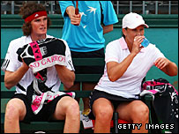 Jamie Murray and Australian partner Liezel Huber