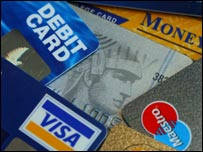 Credit and debit cards generic