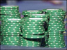 Generic picture of gambling chips