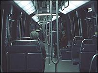 interior del Metro de París