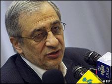 Head of the Iranian central bank Tahmasb Mazaheri