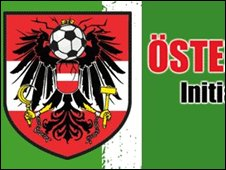 Logo of Osterreich zeigt Ruckgrat